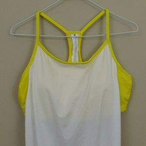 Fabletics Racer Back Tank Top Size XL